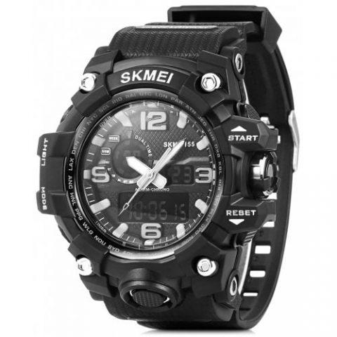 44% off SKMEI 1155 Men LED Digital Quartz Watch Gearbest Coupon Promo Code