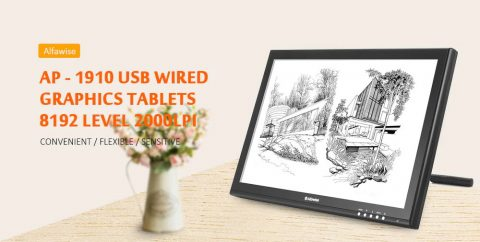 Alfawise AP – 1910 Graphics Tablet Gearbest Coupon Promo Code