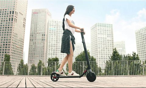 Ninebot Segway ES2 Folding Electric Scooter from Xiaomi