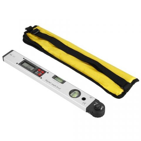 18% off Gocomma 0 – 225 Degree Protractor Spirit Level Digital Angle Meter – WHITE Gearbest Coupon Promo Code