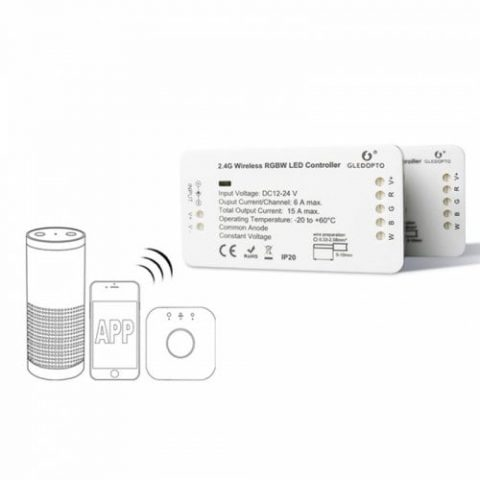39% off GLEDOPTO C – 007 ZIGBEE RGBW LED Strip Controller DC 12 – 24V Compatible with Amazon Echo plus / Osram Lightify – WHITE Gearbest Coupon Promo Code