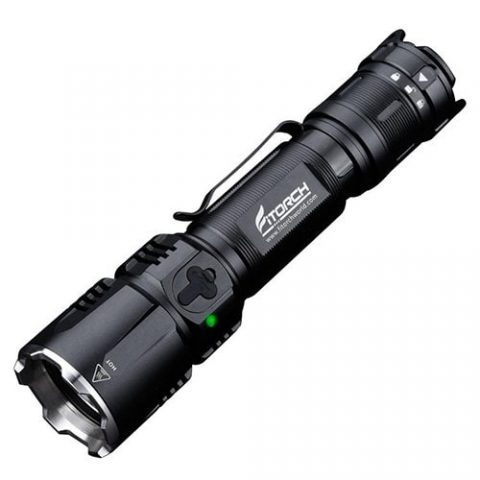 33% off Fitorch MR26 1800lm Waterproof LED Flashlight – BLACK Gearbest Coupon Promo Code