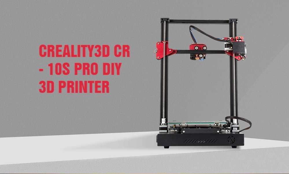 Creality3D CR – 10S Pro 3D Printer Banggood Coupon Promo Code [US-UK