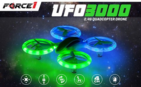 Force1 UFO 3000 LED RC Drone Amazon Coupon Promo Code