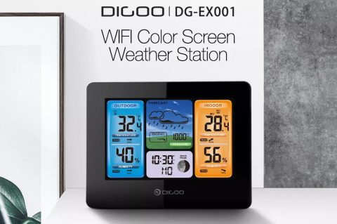 Digoo DG-TH11300 Wireless HD Negative Color Weather Station Banggood