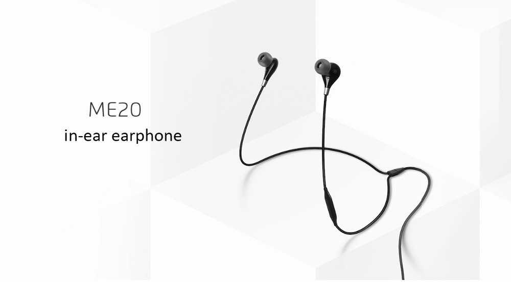 Meizu ME20 Wired In-Ear Earphones With Mic Gearvita Coupon Promo