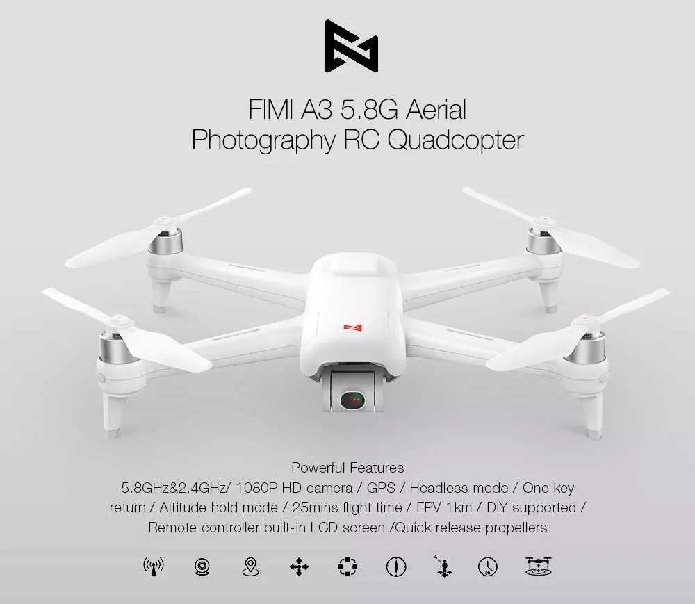 Xiaomi FIMI A3 RC Drone Gearbest Coupon Promo Code [1