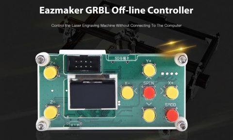 Eazmaker GRBL Off line Controller 480x288 - Eazmaker GRBL Off-line Controller with Mainboard Gearbest Coupon Promo Code