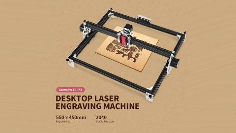Eazmaker LE K1 480x270 - Eazmaker LE - K1 Desktop Laser Engraving Machine Gearbest Coupon Promo Code